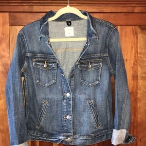 J Crew denim jacket EUC